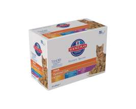 Science Plan Feline - Multipack Adult Optimal Care în Sos 12x85 g de la Hill's