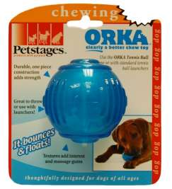 Petstages Orka Tennis Ball  8 cm  magasin en ligne