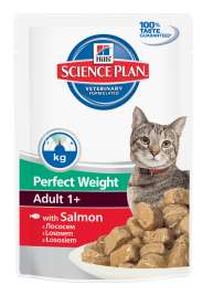Science Plan Feline Adult 1+ Perfect Weight mit Lachs Hill's  0052742000565