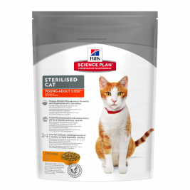 Hill's Science Plan Feline - Sterilised Cat Young Adult met Kip  300 g