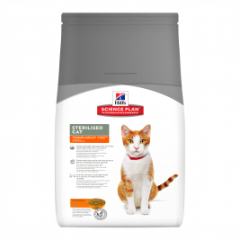 Hill's Science Plan Feline - Sterilised Cat Young Adult met Kip 1.5 kg online winkel