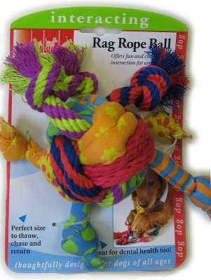 Petstages Rag Rope Balle 22 cm