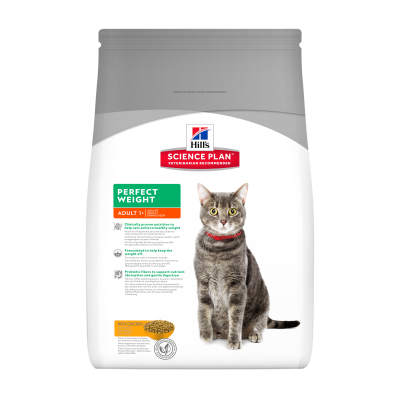 Hill's Science Plan Feline - Adult Perfect Weight cu Pui 8 kg, 3 kg, 250 g, 1.5 kg