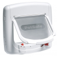 Staywell Deluxe Magnetic Cat Flap  Branco por PetSafe
