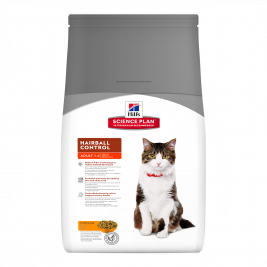 Hill's Science Plan Feline Adult Hairball Control cu Pui 1.5 kg magazin online