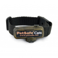PetSafe Deluxe In-Ground Cat Fence Extra Receiver Collar  Preto