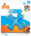 Nylabone Puppy Teething X Bone, blue Azul baratas