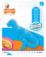 Puppy Teething Dental Dino Nylabone Azul claro