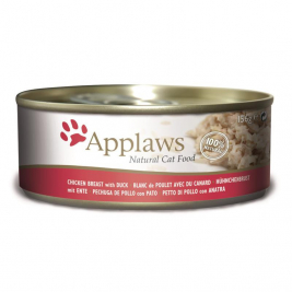 Natural Cat Food Hühnchenbrust mit Ente Applaws 5060122494205