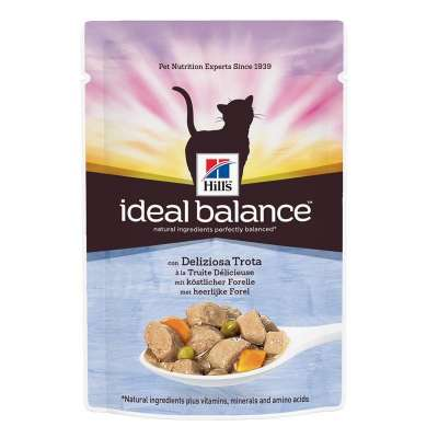 Hill's Ideal Balance Feline Adult with Trout and Vegetables 85 g