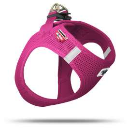 Curli Vest Harness Air-Mesh  Fucsia