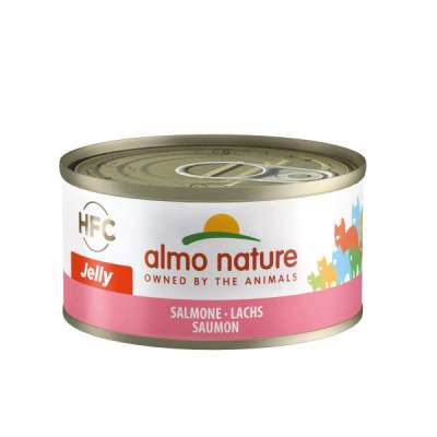 Almo Nature HFC Jelly Lachs 70 g, 140 g, 280 g