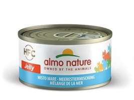 Almo Nature HFC Jelly Mix de Fructe de Mare  70 g
