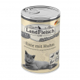 Cat Adult Schlemmertopf with Duck and Chicken  400 g Landfleisch