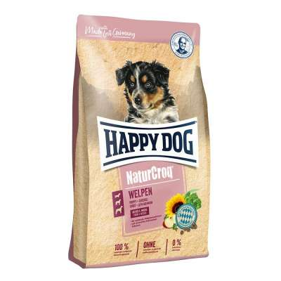 Happy Dog NaturCroq Puppies 15 kg Drůbež