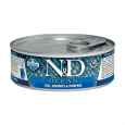 N&D Ocean Kitten Codfish, Shrimps and Pumpkin Farmina 80 g