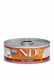 N&D Pumpkin Caille & Potiron Farmina 80 g