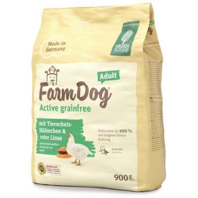 Green Petfood FarmDog Active Grainfree Adult  900 g, 2.7 kg, 10 kg