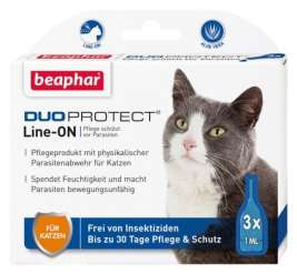 Beaphar Duoprotect Line-ON para Gatos 3x1 ml precio