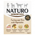 Senior Turkey & Rice with Vegetables Naturo 400 g