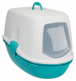 Trixie Berto Top Litter Tray, with Separating System, Threepart  Aqua