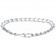 Chromium-Plated Collar with Carabiner  4  por Chaba