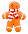 Armitage Pet Care Good Boy Squeaky Gingerbread Man  17 cm