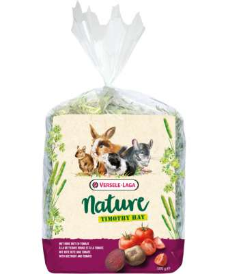 Versele Laga Nature Timothy Hay with Beetroot & Tomato  500 g