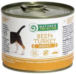 Adult Rind & Pute von Nature's Protection 200 g EAN: 4771317245236