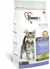 1st Choice Kitten Healthy Start Kanapohjainen  2.72 kg