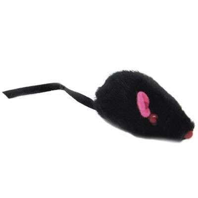 EBI Furry Mouse with Bell 5 cm