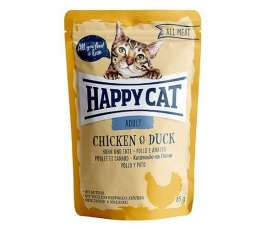 Happy Cat All Meat Adult Pollo y Pato  85 g