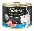 Miamor Feine Beute with Salmon, Grain-free  185 g