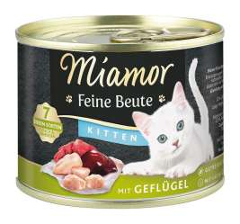 Miamor Feine Beute Kitten with Poultry, Grain-free  185 g