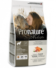 Pronature Holistic Adult Indoor & Outdoor Γαλοπούλα & Βατομουρα 13.6 kg