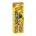 Nestor Sticks 2 in 1 for Large Parakeets with Eggs and Fruits 115 g