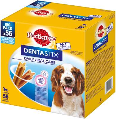Pedigree Dentastix Multipack per Cani di taglia media 56 pcs
