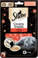 Sheba Creamy Snacks with Beef 4 St
