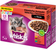 Whiskas Junior Kjøttmeny i Gelé 12x100 g