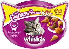 Whiskas Trio Crunchy Treats - Poultry Flavours  66 g