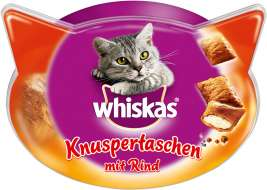 Whiskas Temptations com Vaca  72 g