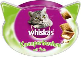 Whiskas Temptations com Peru  72 g