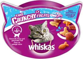 Whiskas Trio Crunchy Treats Seafood Flavours  66 g